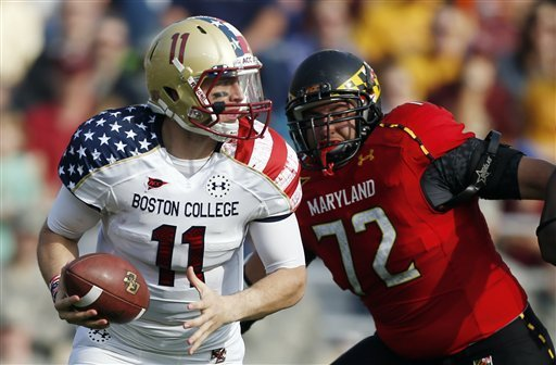 Boston College Wounded Warrior Uniforms