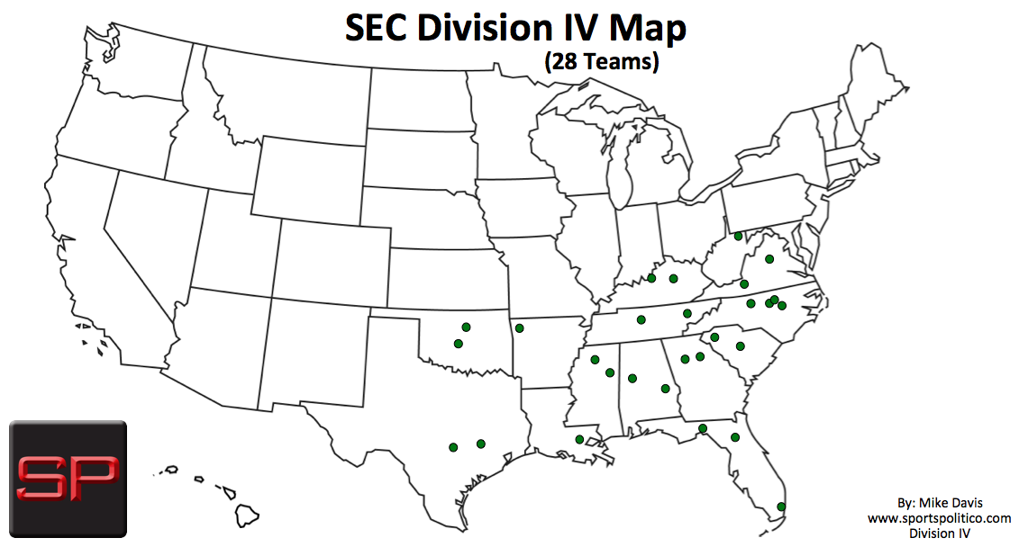 SP #4 USA Map SEC