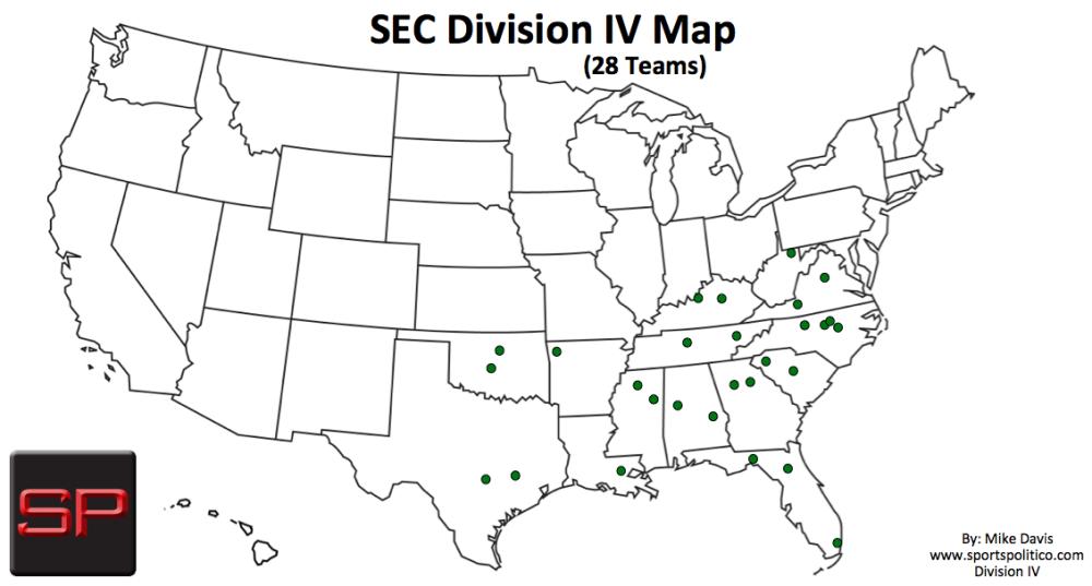 SP #4 USA Map SEC